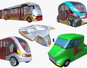 Vehicles II 3D model