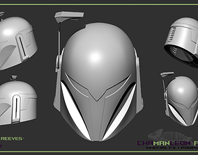 Koska Reeves The Mandalorian 3d printable cosplay helmet