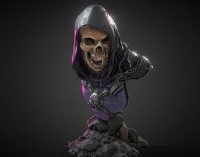 3D print model Skeletor bust