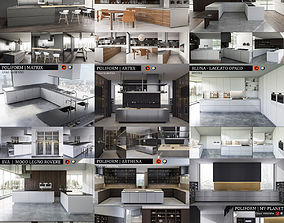 3D model Kitchen collection