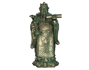 3D print model God of Longevity