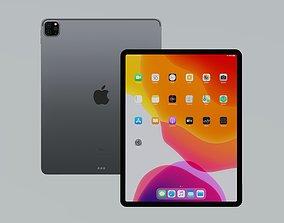 3D model low-poly iPad Pro 2020