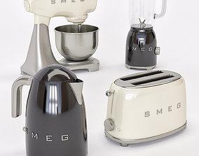 3D model appliances home smeg