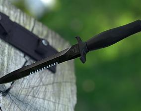 Gerber Mark II knife 3D