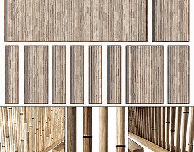 3D model Bamboo branch decor n19