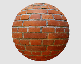 Bricks PBR Texture 02 3D