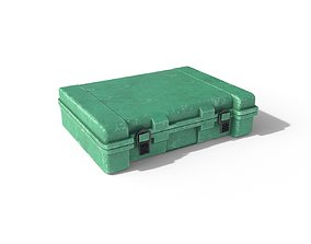 Plastic Storage Box Container PBR 3D