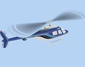 Bell 206 Jet Ranger 3D model
