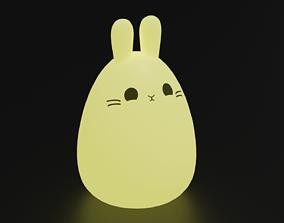 3D model Bunny Lamp