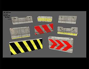 barrier set 5 3D model
