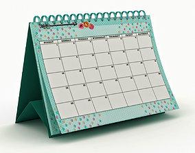 3D model Desk calendar