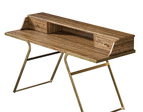 interior Writing table - Savannah 3D model