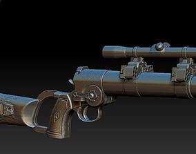 Boba Fett ESB carbine 3D print model