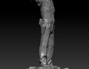 Rick Grimes The Walking Dead 3D print model