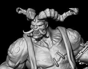 minature 3D print model The Butcher - Diablo