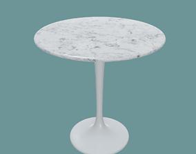 Saarinen side table 3D model
