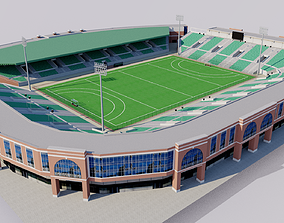 Major Dhyan Chand National Stadium - India 3D model