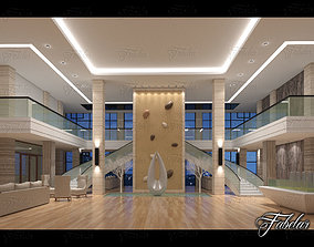 3D building Hall