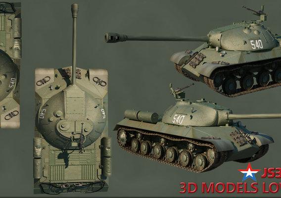 STALIN JS-3 Russian Tank