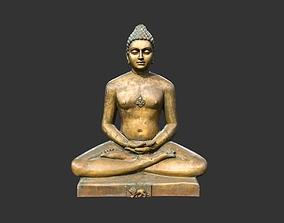 Bhagwan Mahaveer 3D asset
