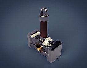 jewelry 3D printable model Hammer trinket