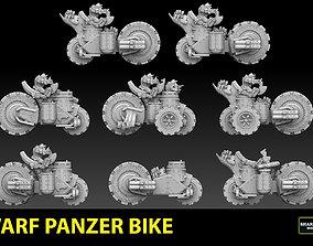 Panzer Bike Dwarf Version 3D printable model