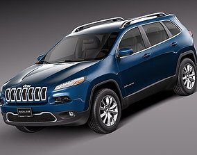 Jeep Cherokee Limited 2014 3D