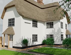 grass 3D Cottage House