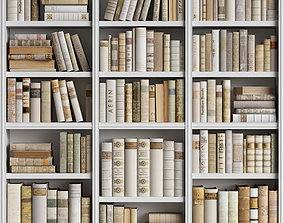 Classic Books 15 3D model