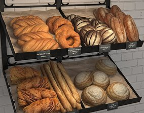 Bakery stand 3D model