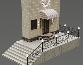 Entrance group cafe 3D