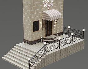 Entrance group cafe 3D