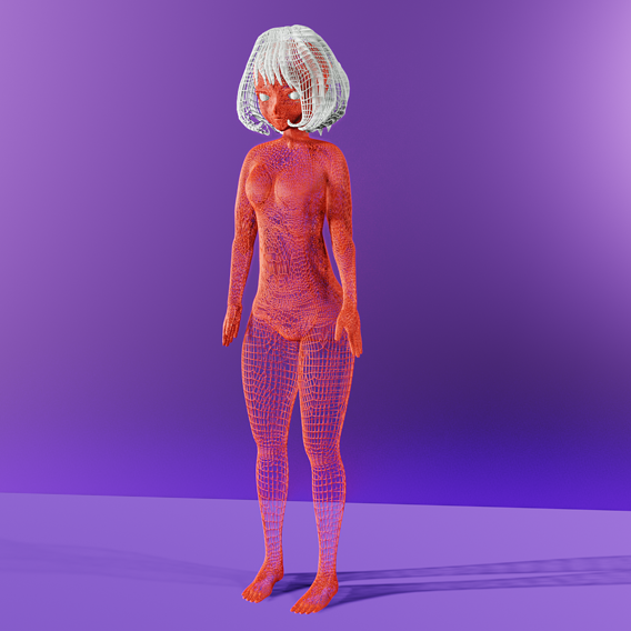 Abstract Female Statue