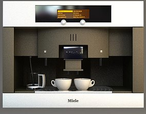 3D Miele Coffee Machine