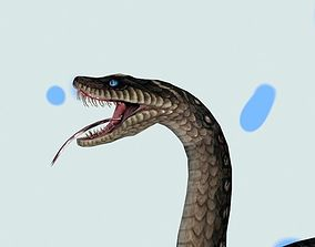 anaconda SNAKE 3D animated