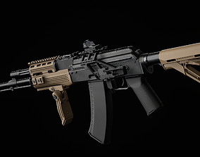 AK 74 Tactical 3D model