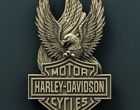 Harley Davidson 3d stl model for cnc