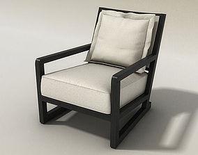 3D Maxalto Armchair - B B