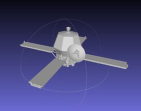 vehicles Mariner 9 Mars Probe Basic Printable Model