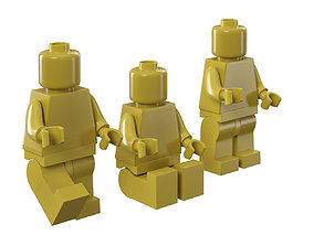 3D Lego mans