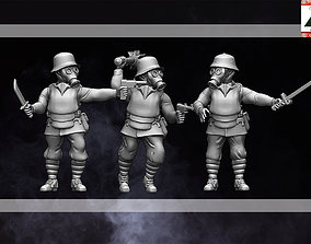28mm WW1 Austria-Hungarian Trench 3D printable model