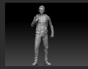 PETER PARKER SCHOOL VERSION STATUE 3D printable model 2
