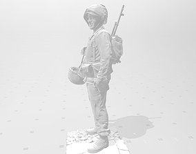 3D printable model games Soldat US Marine 1945