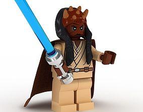 3D model LEGO Minfigure Agen Kolar
