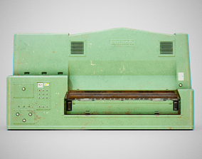 Sanding Machine - Anthon 02 Used 3D model