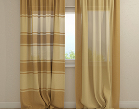 Curtain Welcoming 3D model