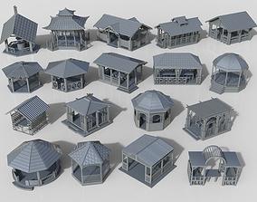 3D Arbors -part-2- 18 pieces