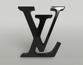 3D model Louis Vuitton Logo 001