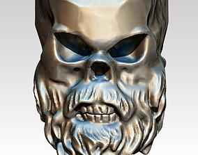 3D print model Beard Skull