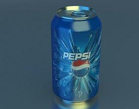 food 3D model Pepsi Can